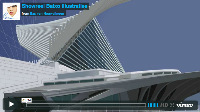 Showreel Baixo Illustraties
