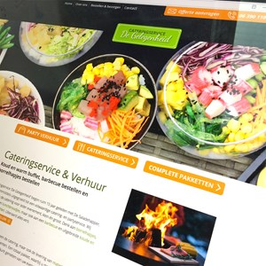 website Cateringservice De Gelegenheid