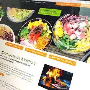 lees meer over website cateringservice de gelegenheid