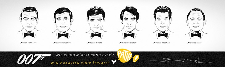 007 James Bond illustraties